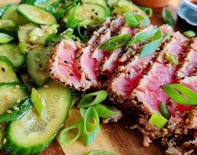 Feature Image Seared Ahi Ahi Tuna Recipes