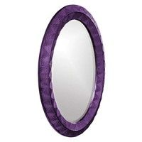 Howard Elliott Zoey Royal Purple Mirror - 43075RP