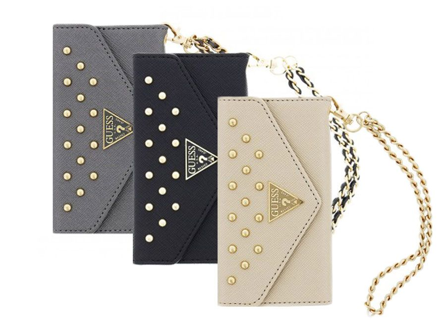 Guess Studded Clutch Case Wallet Case voor iPhone 6 Plus