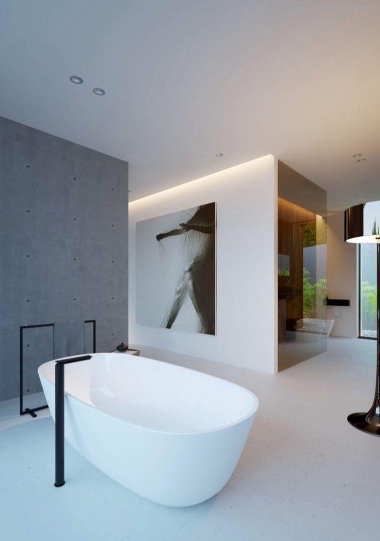 Salle De Bain Luxueuse Moderne ~  pingl par giulia bortolotti sur b a t h r o o m pinterest