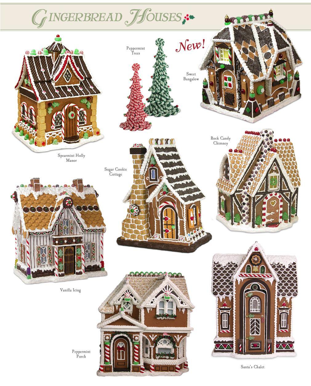 Gingerbread houses casas de jengibre pinterest - Casitas de navidad ...
