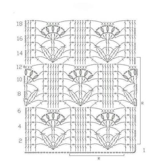 Crochet pattern for blouses #crochetmotif