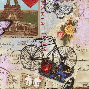 Timeless Treasures House Designer - Paris - Paris Valentine in Antique