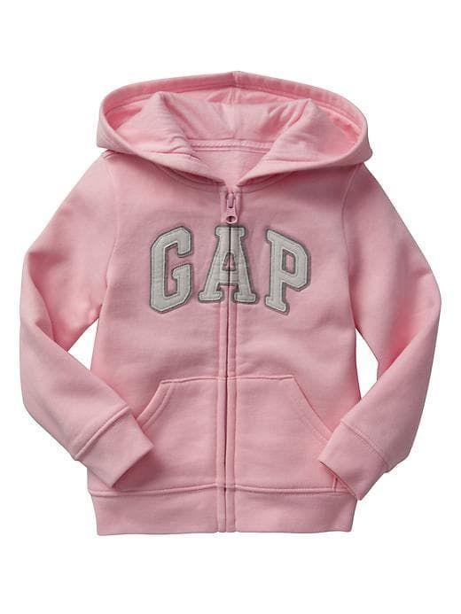 2898adff4 Arch logo zip hoodie   C ù t é f ü t ù r ė b ā b y s t ü f f   Gap ...