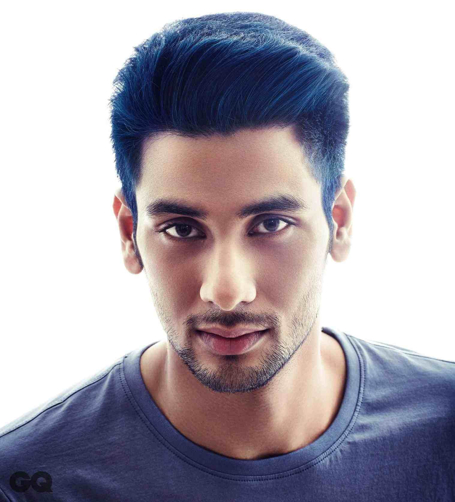 Hair Color Dark Blue For Men Hair Stylist And Models Pinterest