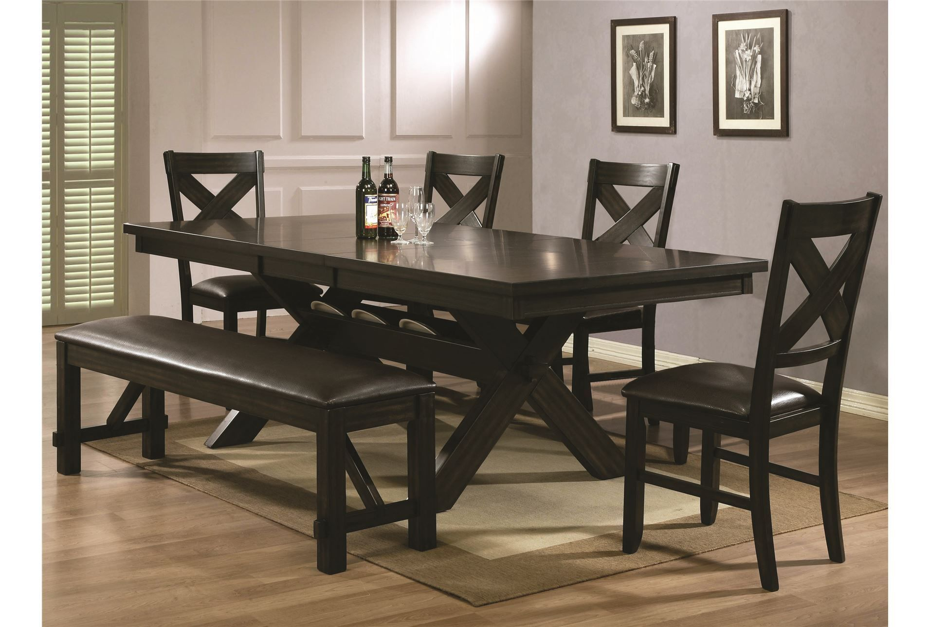 Pelennor 6 Piece Dining Set Living Spaces Farm Style