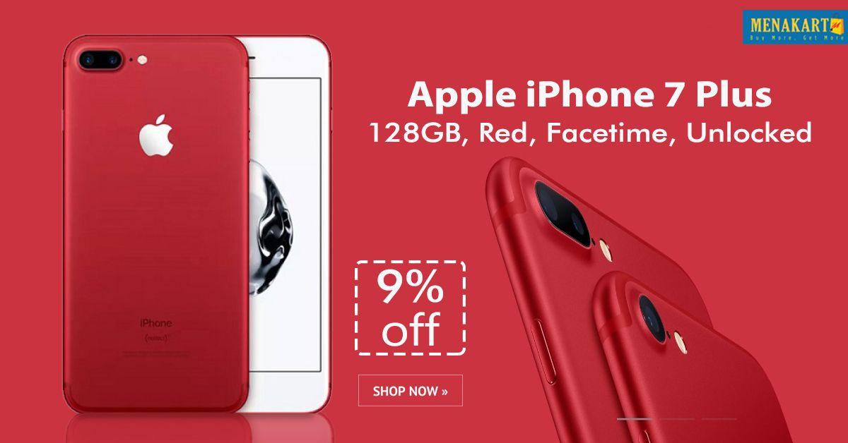 Apple iPhone 7 Plus - 128GB, Red, Facetime, Unlocked | Apple