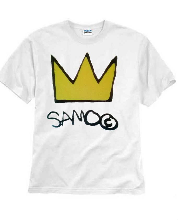 66278b01e5e0 Jean Michel Basquiat Samo (L) T-shirt Andy Warhol 100% Cotton Graphic Tee  #jerzeegilden #GraphicTee