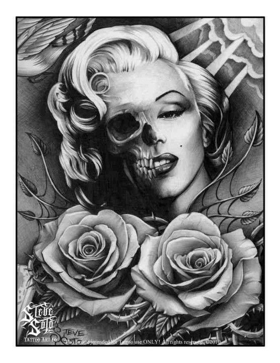Steve Soto Tattoo S Amp Art Marilyn Monroe Tattoo