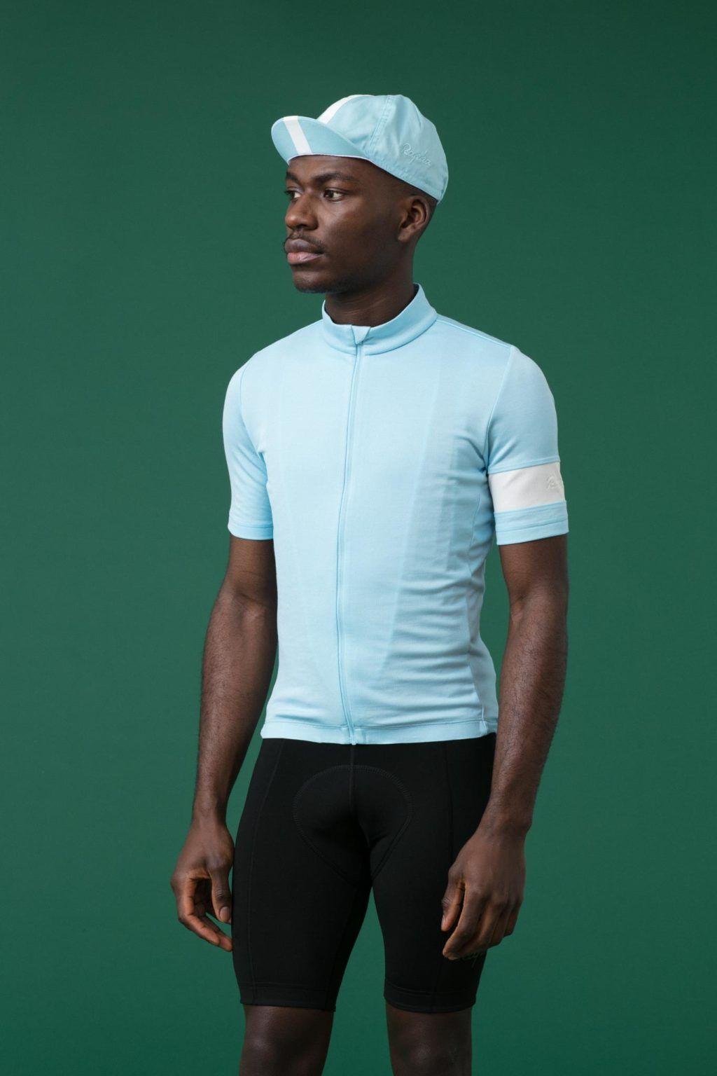 Light blue.  cyclingkit  cycling  apparel  rapha  cyclingjersey  kit ... 613926690