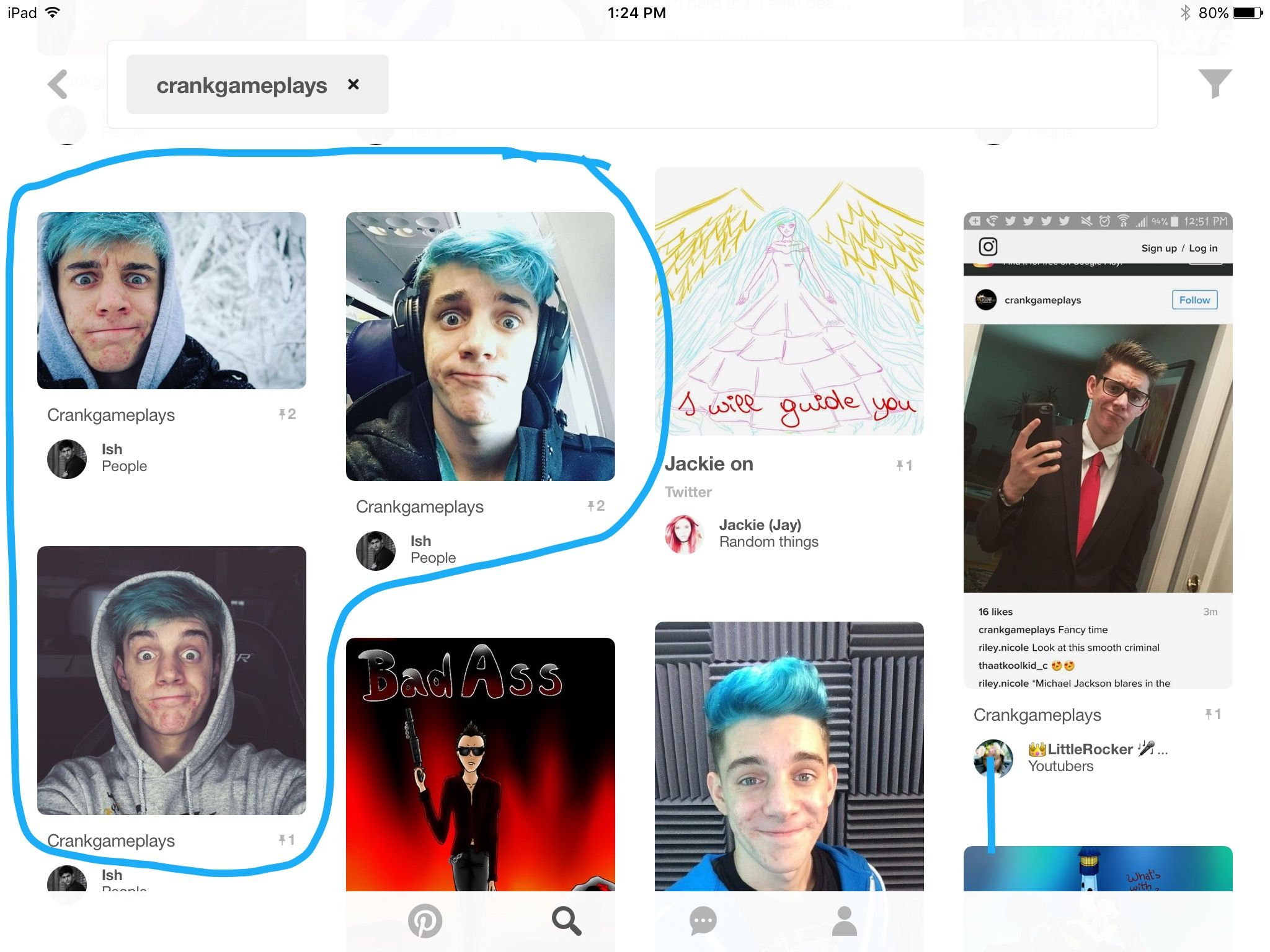 CrankGameplays He makes this face a lot. Ethan