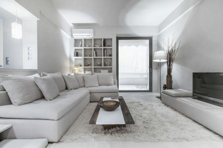 Perfect Ton In Ton Einrichtung Für Das Stilvolle Wohnzimmer Awesome Design
