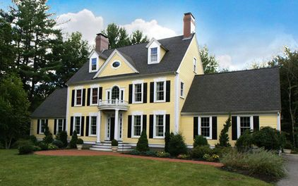 Invigorate Your Home S Exterior With Color Yellow House Exterior House Exterior Yellow Houses