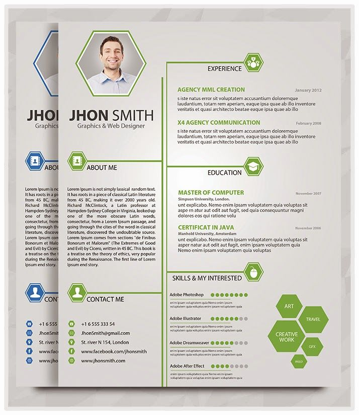 Download Creative Resume Builder Resume Example The - creative resume builder