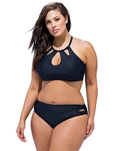 d6d666cb9c10c Introducing Swim Sexy Womens Plus Size Debutante Bikini 18 Black. Get Your  Ladies Products Here and follow us for more updates!