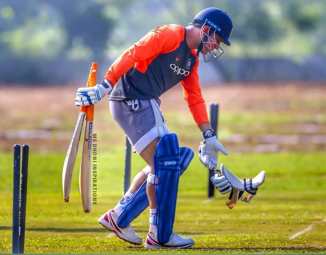 Image May Contain One Or More People People Playing Sports And Outdoor Ms Dhoni Wallpapers Dhoni Wallpapers Ms Dhoni Photos
