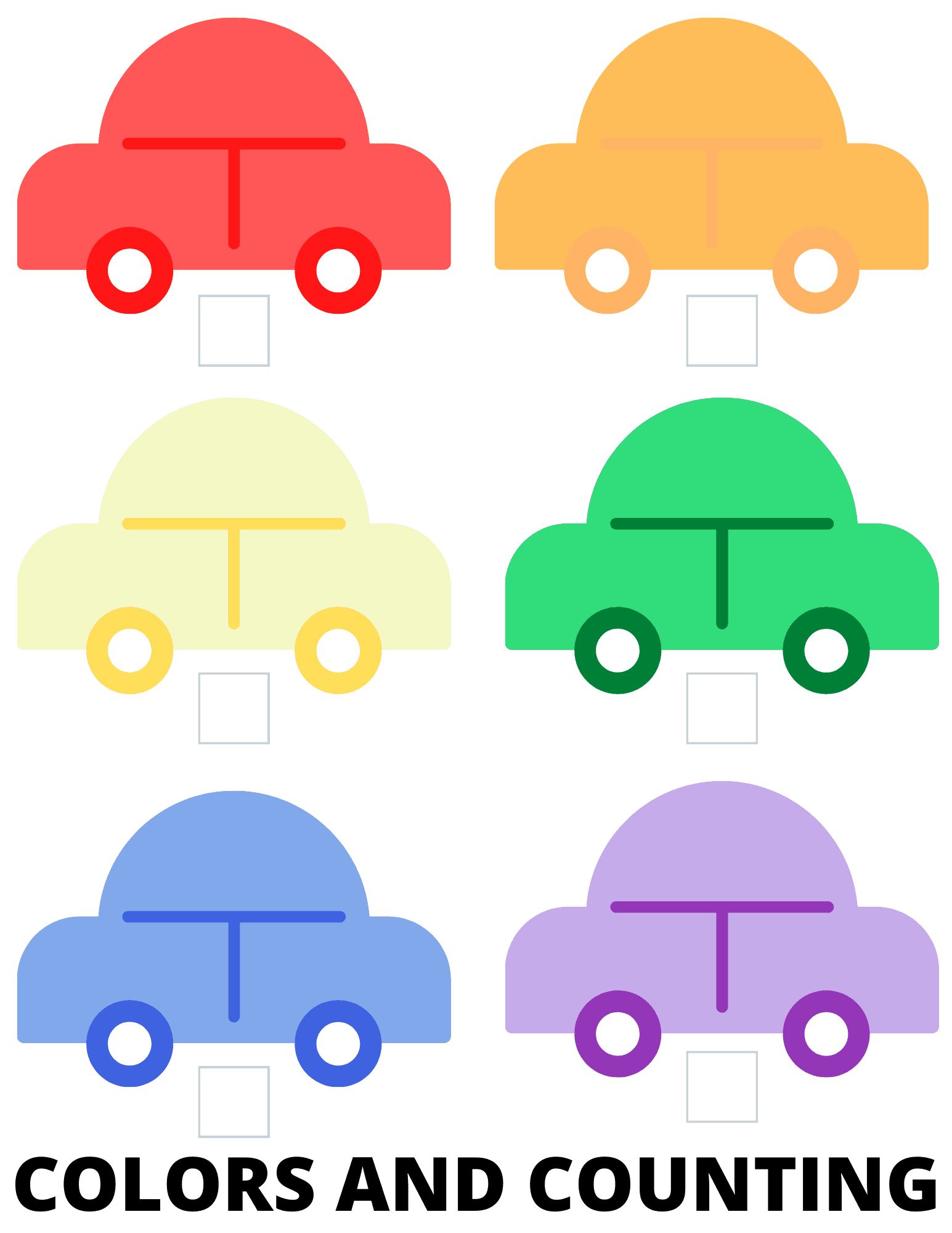 Free Printable Preschool Worksheets Car Themed