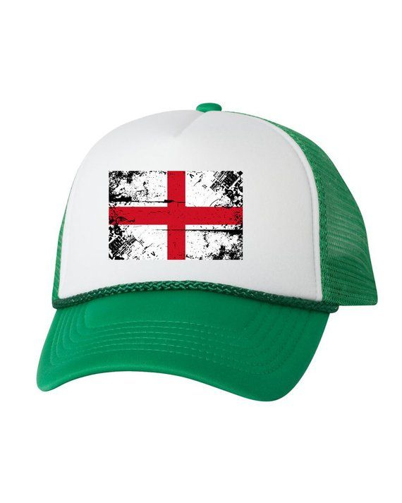 England Flag Trucker Hat England Hats for Men and Women English Football  Cap England Soccer Gifts En b5e35ac7ee