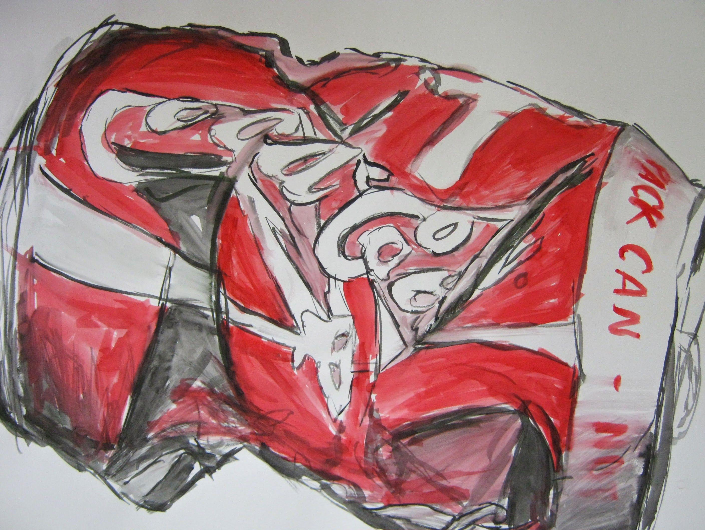 Soda Coke Can Drawing Evie Hancox