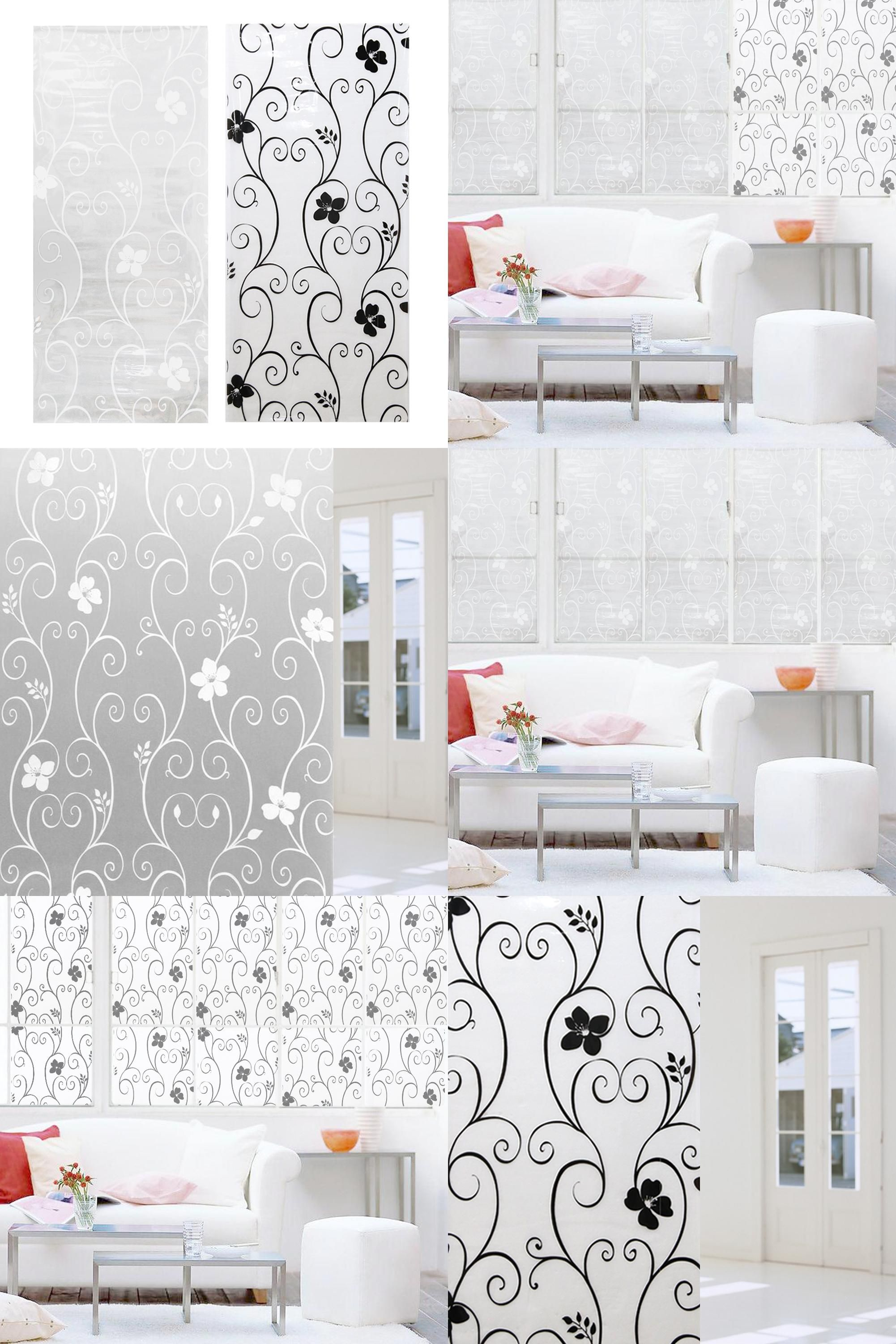 Window decor stickers  visit to buy cm frosted opaque glass window film privacy