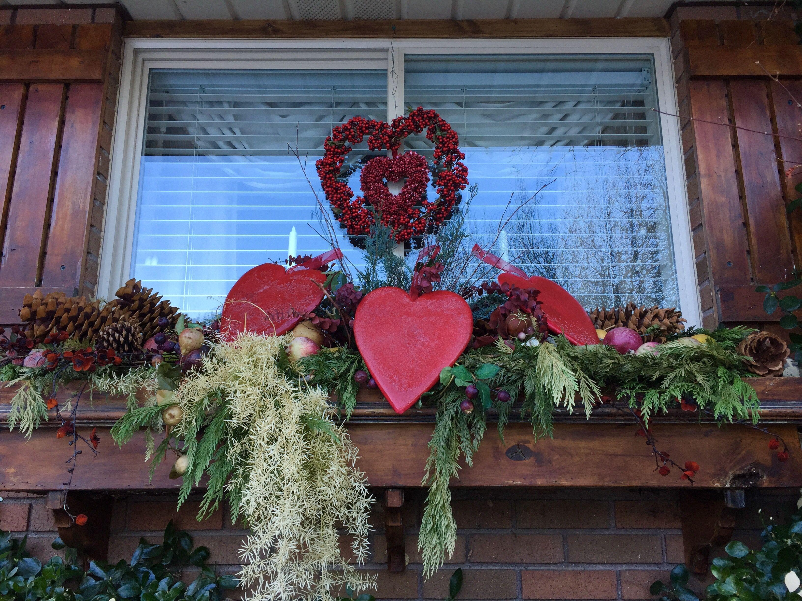 Valentine Window Box By Darris Howe Valentines Outdoor