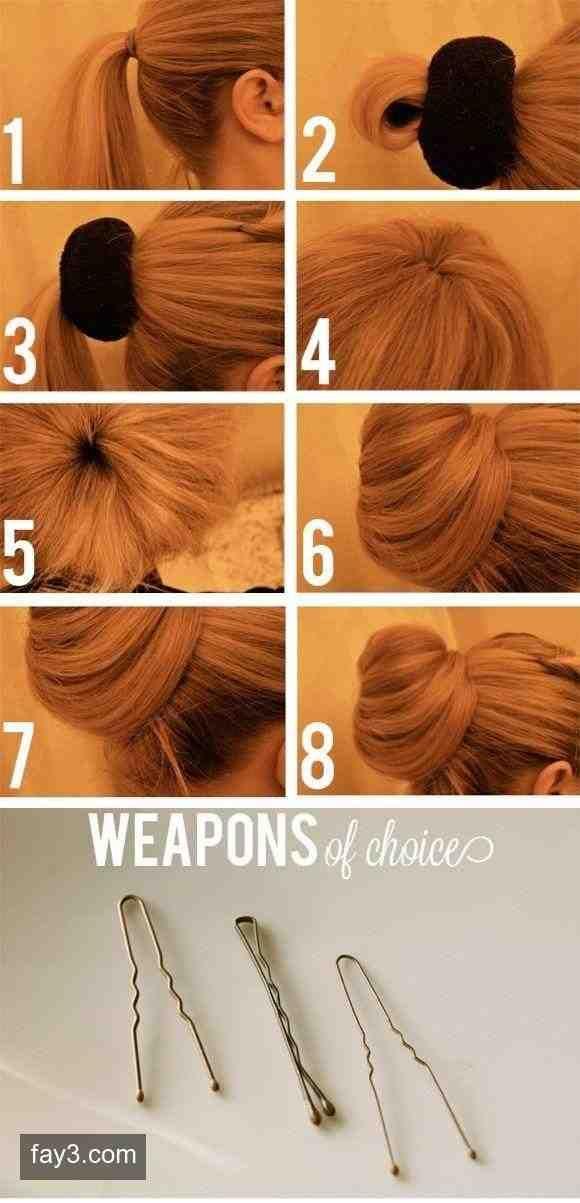 تسريحات شعر بسيطة للشعر الطويل