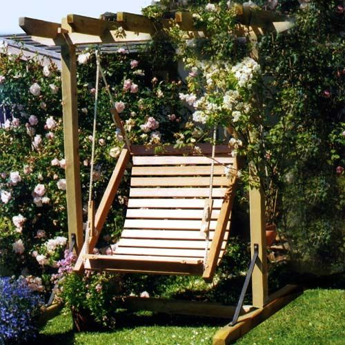 single swing with frame garden swings swing seats adirondack chairs wooden furniture
