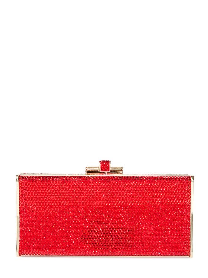 Slender Curve Crystal Minaudière from Gift Shop: Editors' Picks on Gilt