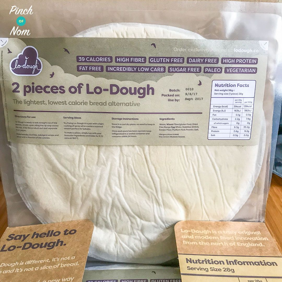 Lo Dough The 2 Syn Pizza Base Review Slimming World