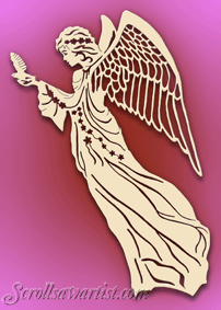Photo of Scroll Saw Patterns :: Religious & Inspirational :: Angels –