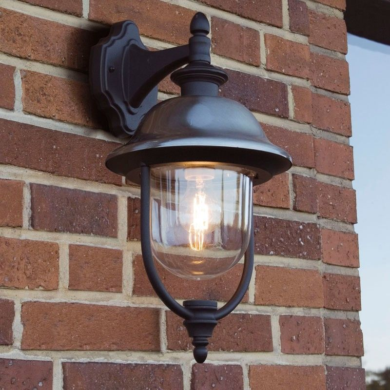Konstsmide parma outdoor hanging lantern wall light garden konstsmide parma outdoor hanging lantern wall light mozeypictures Gallery