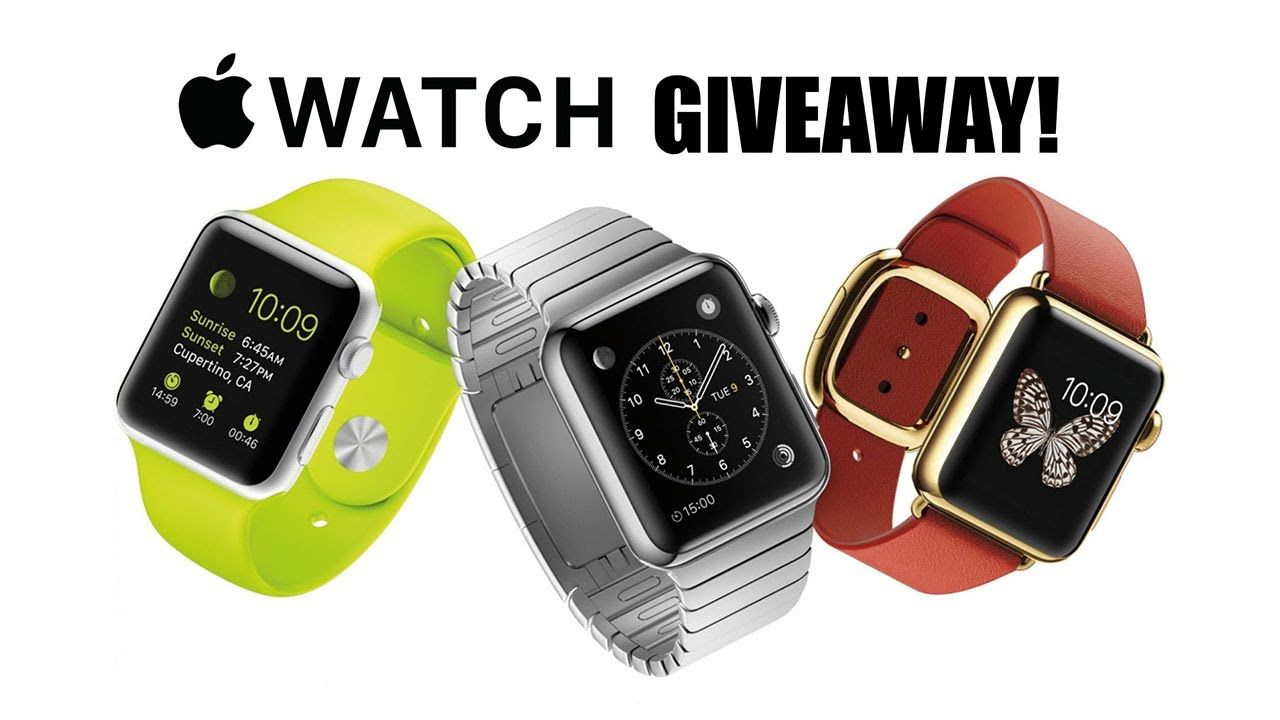 Free Apple Watch 2017 Series 2 Giveaway No Surveys
