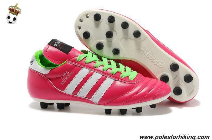 Adidas Copa Mundial Pink White Green Fg Football Boots Soccer Shoes White Football Boots Green Football Boots