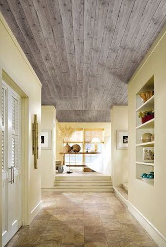 Delightful Flame Retardant Suspended Ceiling / In Wood / Strip WOODHAVEN : 1273 Armstrong  Ceilings