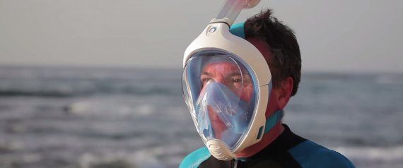 f910895279f4c Easybreath Snorkeling Mask, Water Sports, Full Face Snorkel Mask, Gadgets  And Gizmos,
