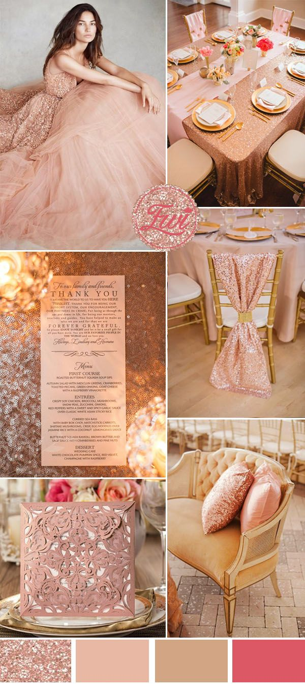 Wedding Trends Seven Stunning Wedding Color Ideas In Shades Of