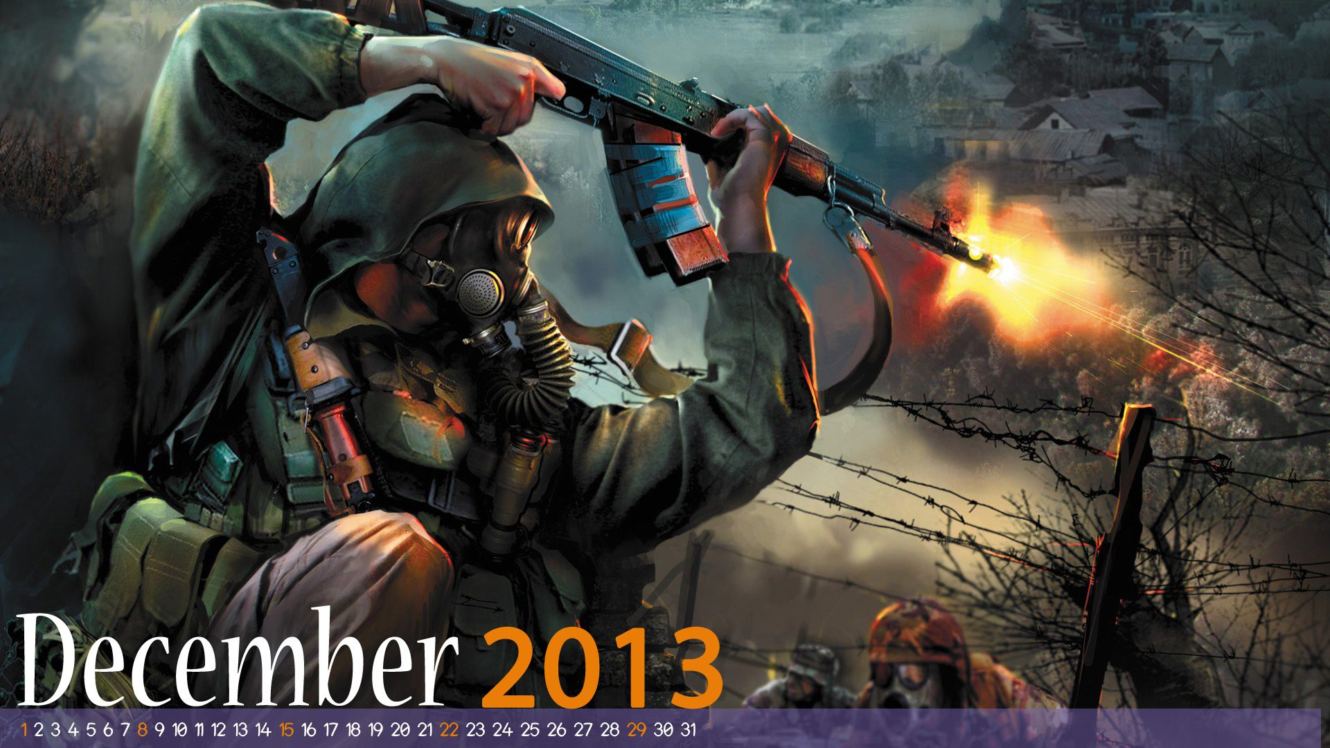 Pin On December 2013 Calendar Wallpaper