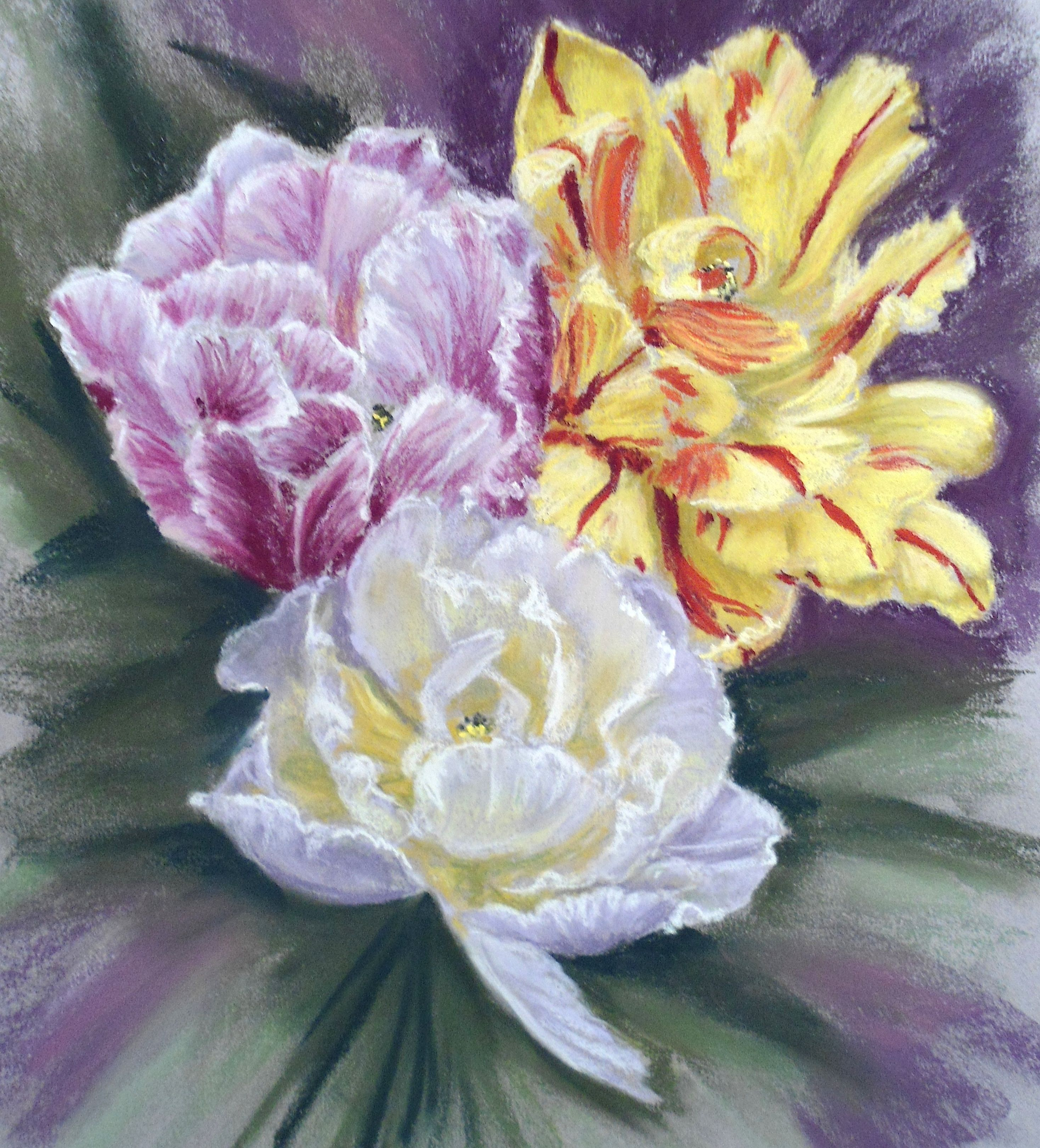 Pastels Lessons On Pinterest Soft Pastels Painting