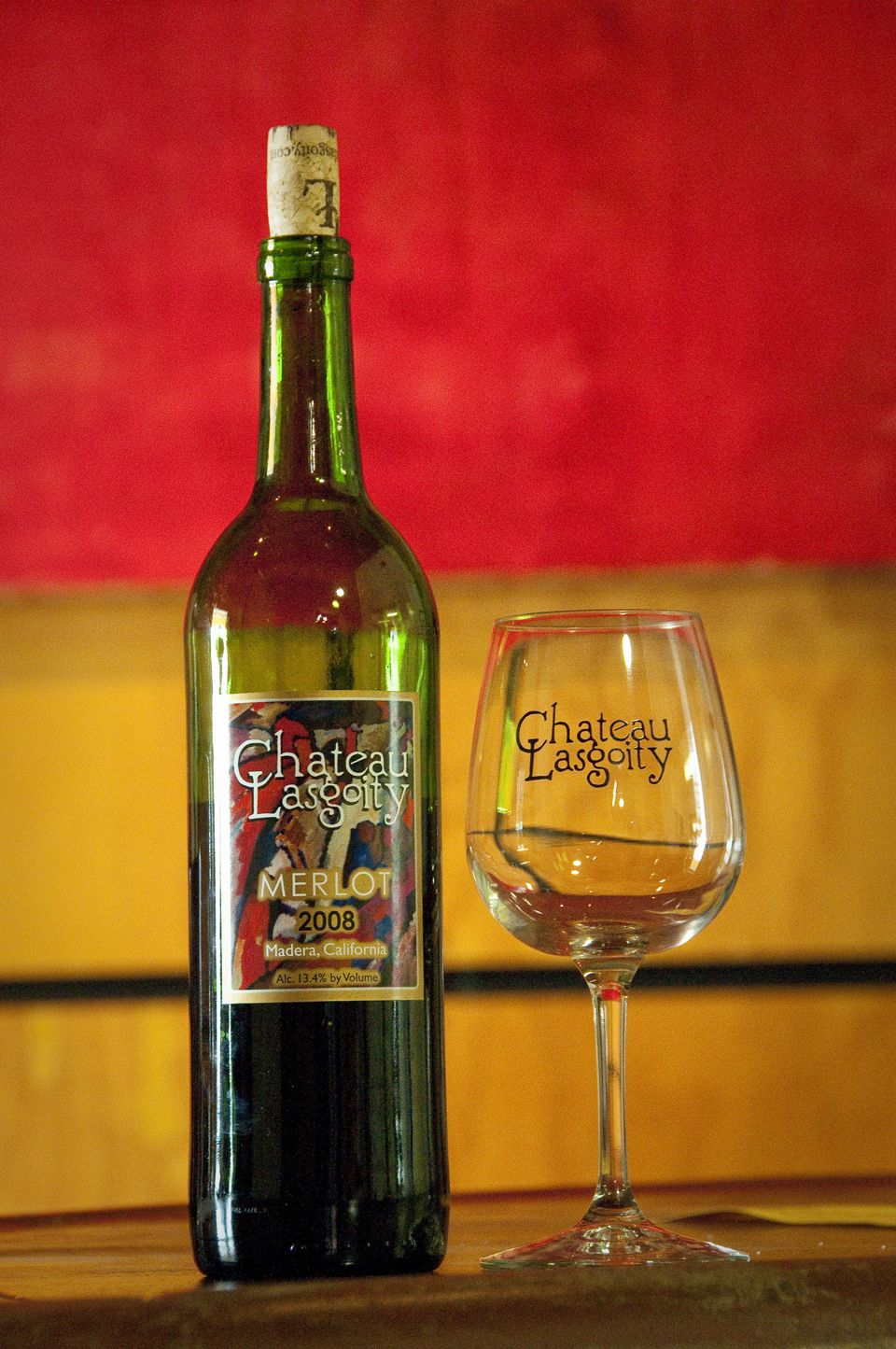 Chateau Lasgoity Madera Small Boutique Winery Wine Trail Wine Country California Madera County