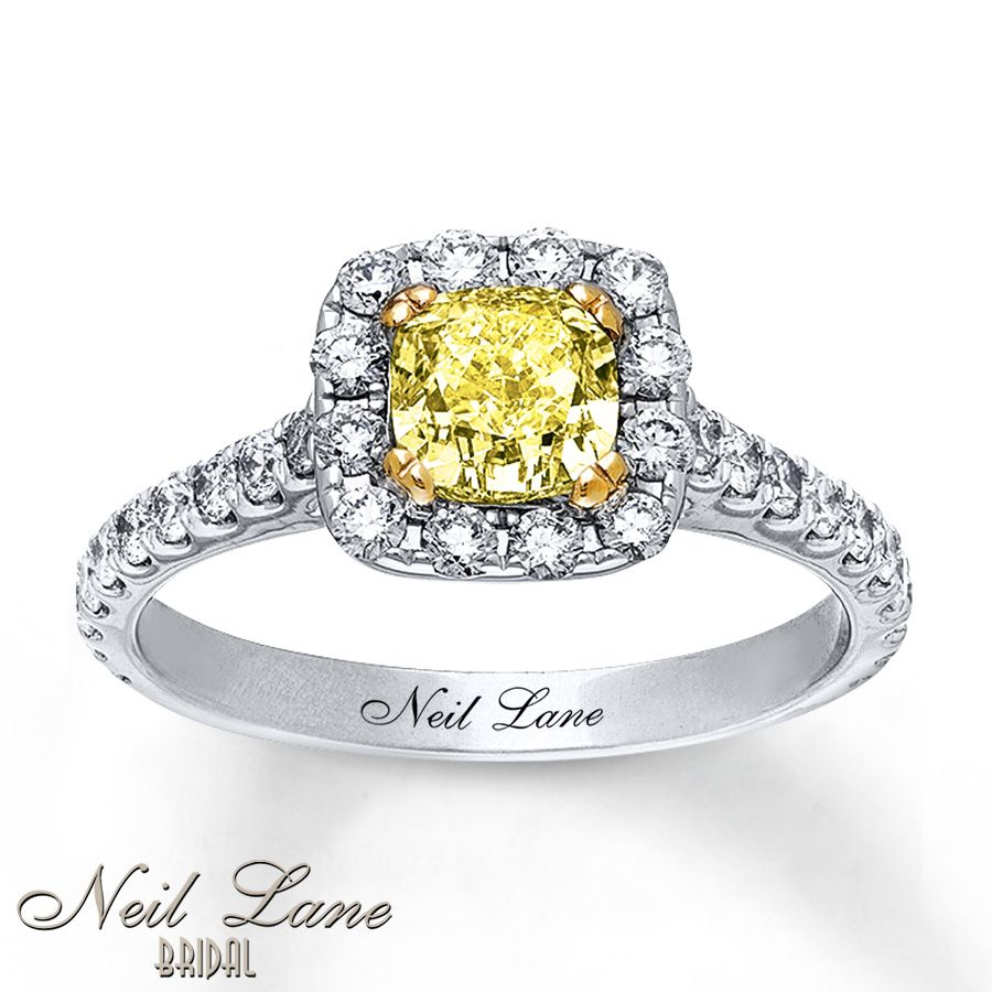 ring faux fancy magnificent cut canary step dudvska yellow carat cute diamond rings rectangular