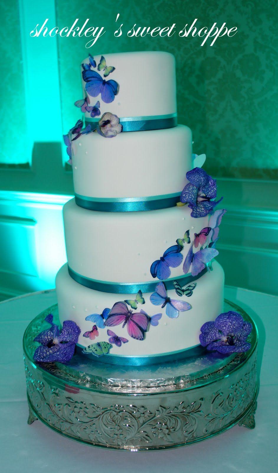 Butterfly wedding cake food pinterest wedding butterfly