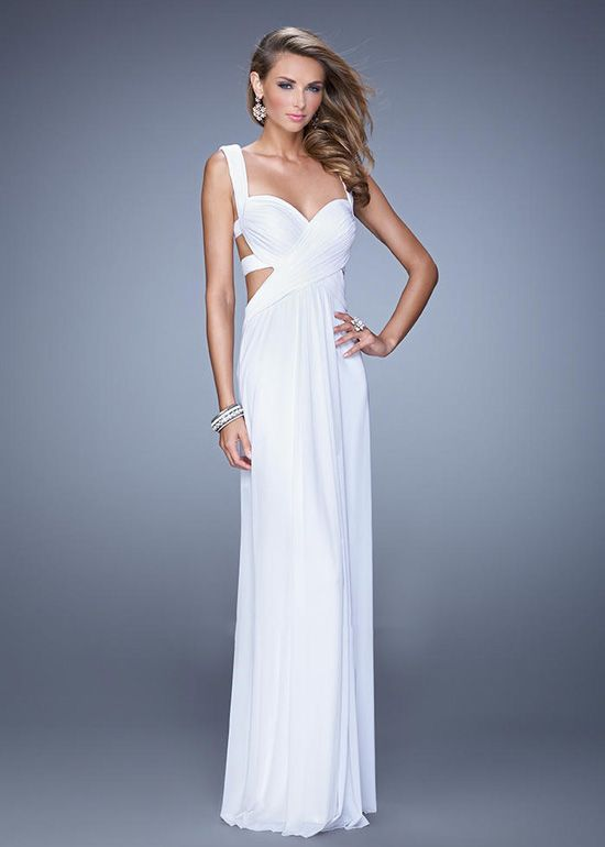 Prom dress cut out sides