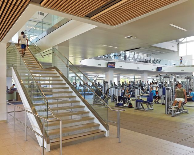 Cal State Long Beach Recreation Wellness Center By Cannon Design