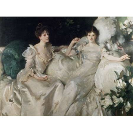 Posterazzi The Wyndham Sisters Canvas Art - John Singer Sargent (22 x 28)