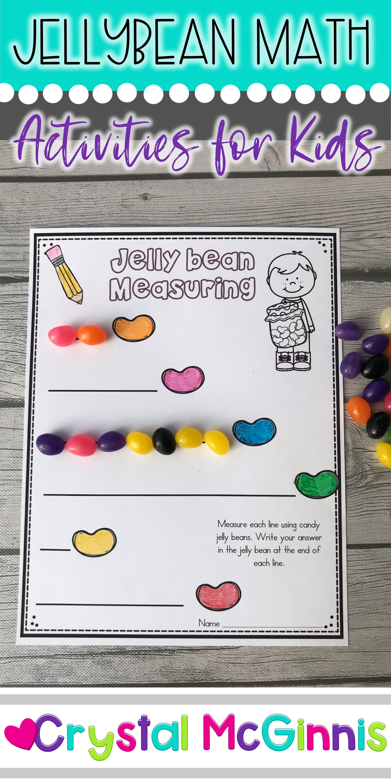 10 Jellybean Math Activities For Kindergarten Graphing