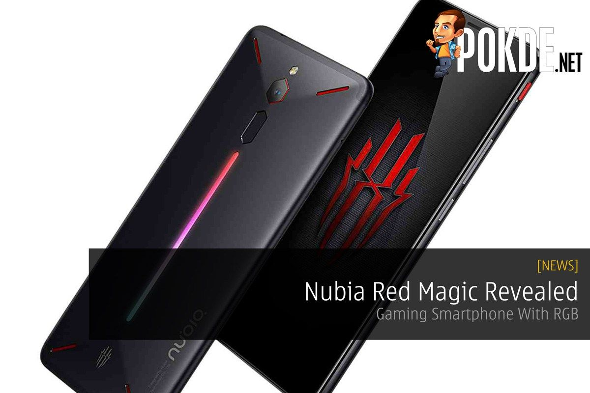Nubia Red Magic Revealed — Gaming Smartphone With RGB | Technology