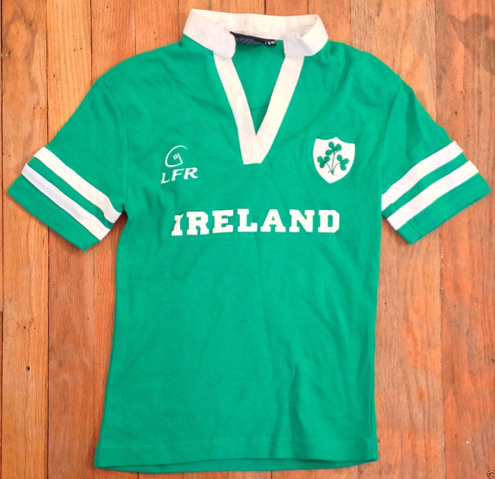 Lfr Live For Rugby Ireland Kids Youth Green 10 Jersey Shirt Medium 8 10 Guc Ebay Recycled Couture Fashion Apparel Shop Ireland Rugby Jersey Shirt Rugby