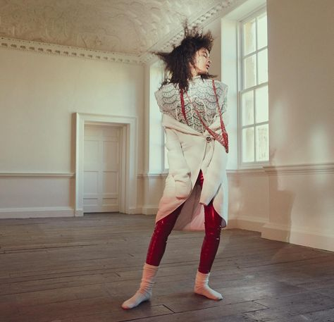 Luisana Gonzalez by Benjamin Lennox for Numéro May 2017