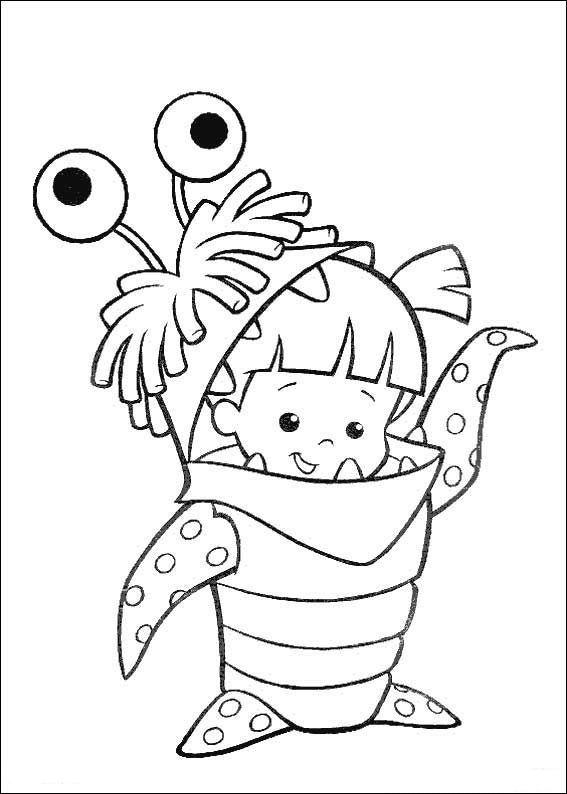 Coloriage Dessins Dessins A Imprimer Et La Couleur En Ligne Monstres Et Cie Dibujos Para Colorear Dibujos Tiernos Para Colorear Dibujos Para Colorear Disney