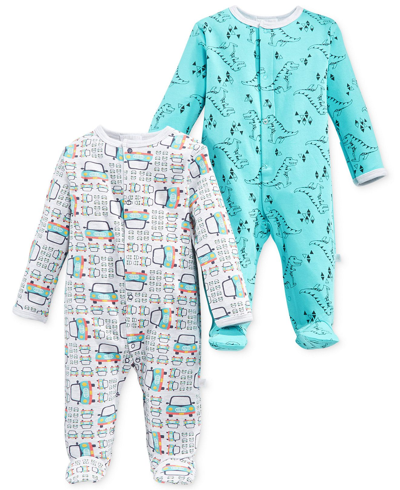Rosie Pope Baby Boys' 2-Pack Printed Coveralls - Kids Baby Boy (0-24 months) - Macy's